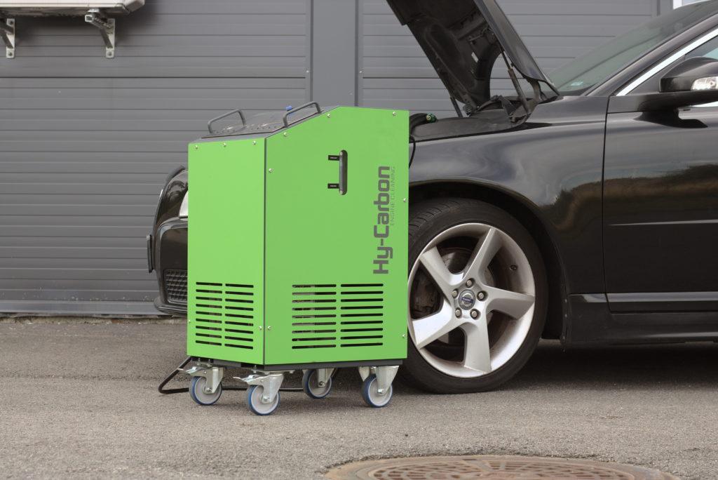 HY-Carbon motorrens. Gjør bilen din driftsikker, sparsom og miljøvennlig.